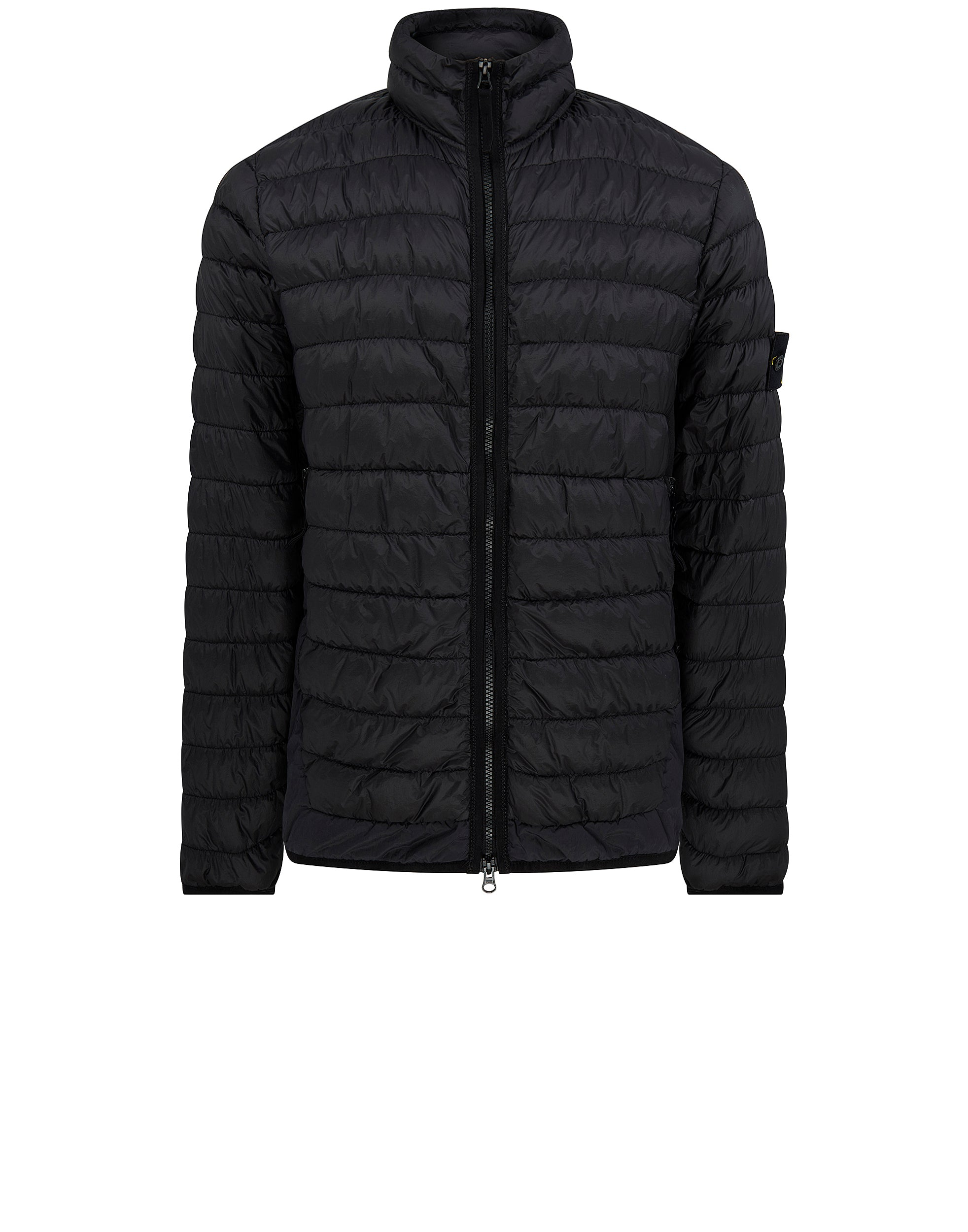 40324 GARMENT-DYED MICRO YARN DOWN_PACKABLE Jacket in Black