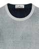 544A8 Reversible Cotton Crew Knit in Navy