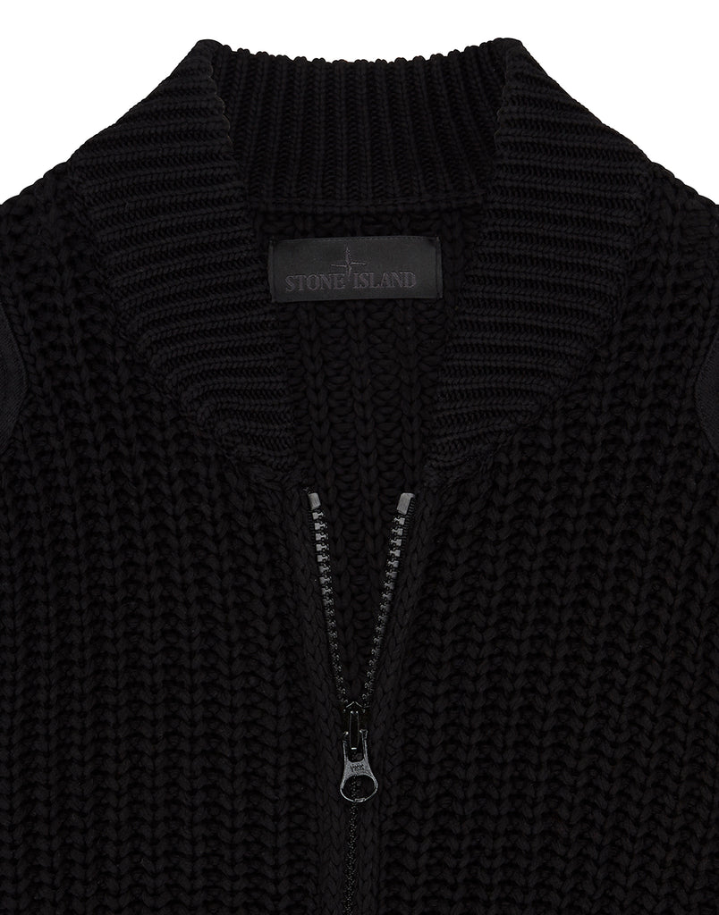580FB GHOST PIECE Knit in Black