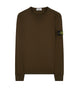 62740 Cotton Sweatshirt in Military Green