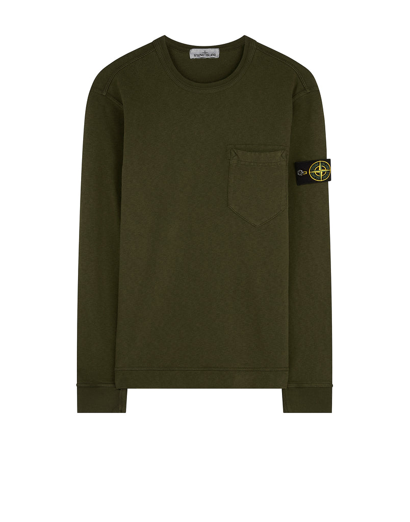 63960 T.CO+OLD Sweatshirt in Military Green