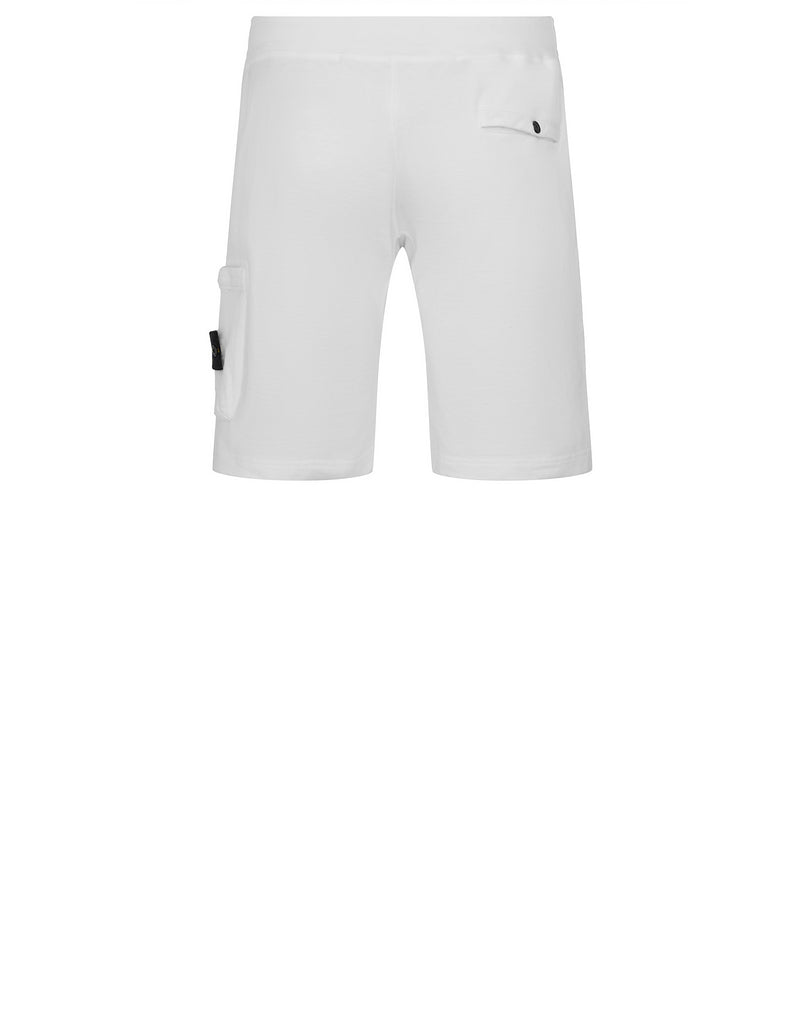 65760 T.CO+OLD Fleece Bermuda Shorts in White