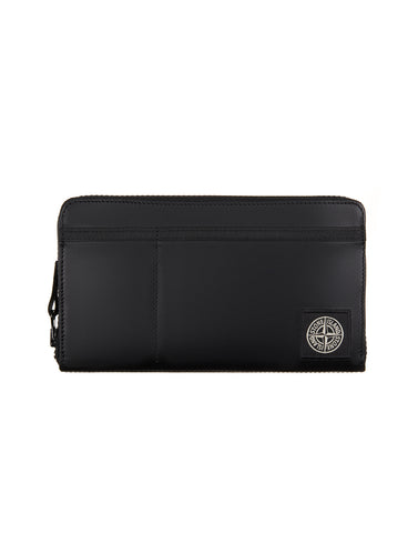 90679 Leather Wallet in Black