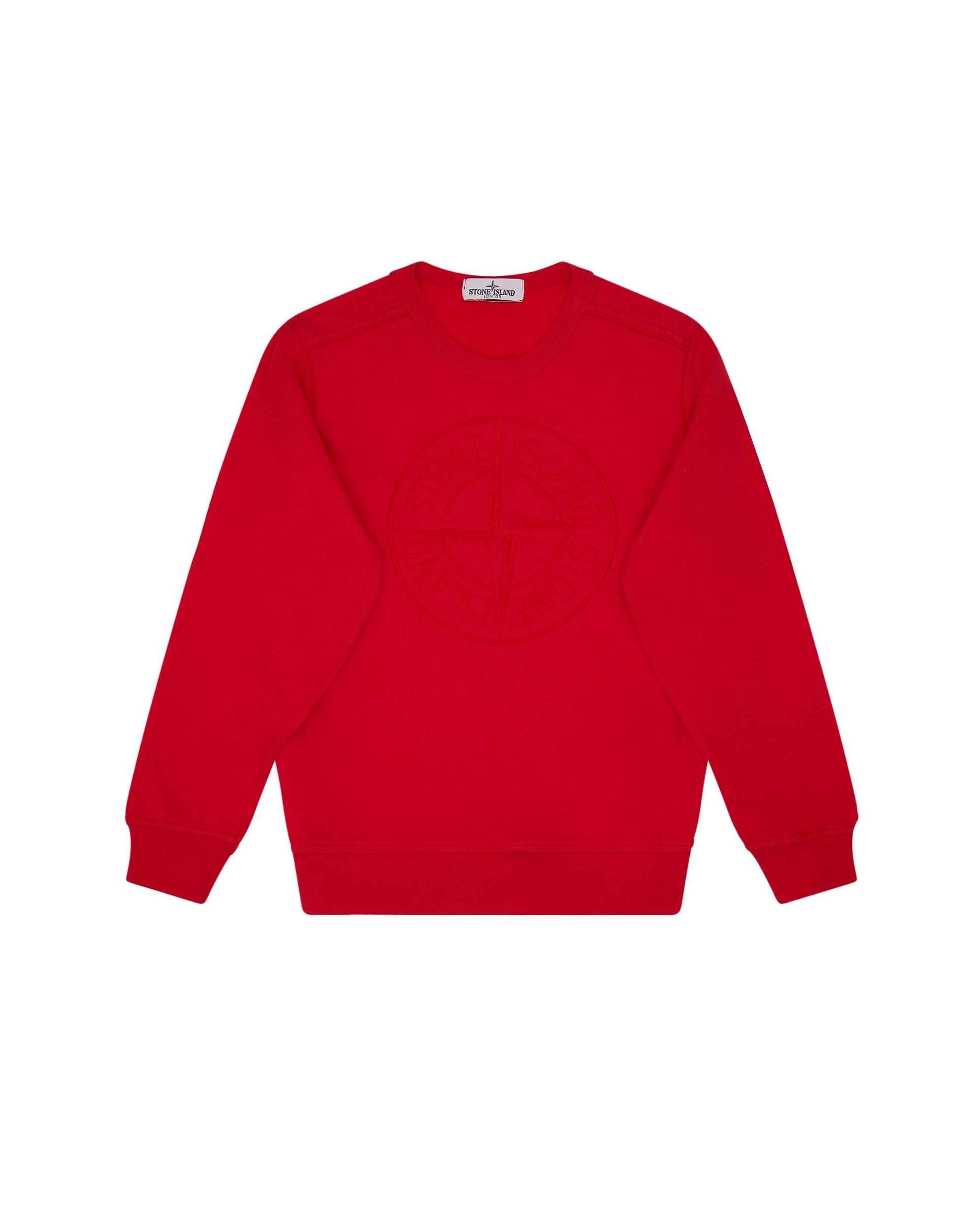 63040 Compass Crew Neck Sweatshirt in Red