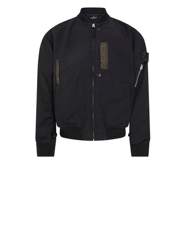 40402 FLANK POCKET BOMBER in Black