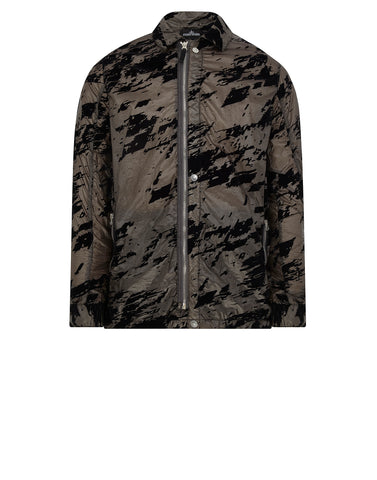 40603 LUCID FLOCK COACH JACKET in Black
