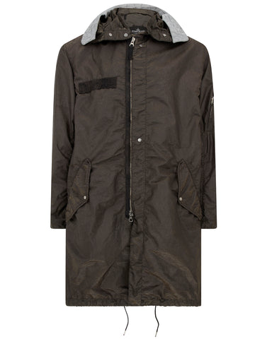 70404 FISHTAIL PARKA in Military Brown