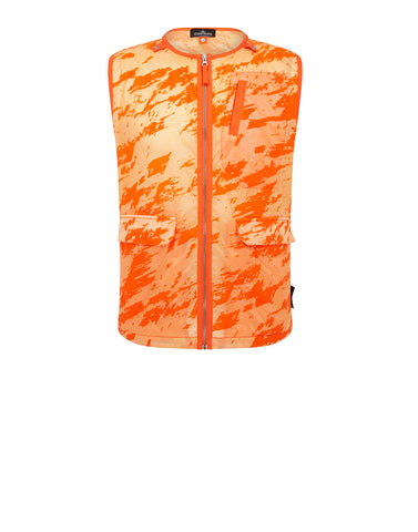 G0103 DROP POCKET VEST Gilet in Orange