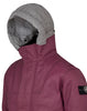 00199 ICE JACKET DYNEEMA BONDED LEATHER in Cherry