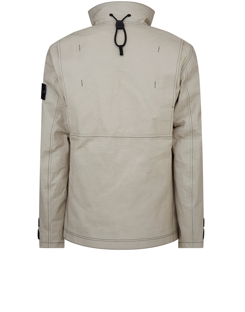 00199 ICE JACKET DYNEEMA BONDED LEATHER in Beige