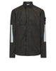 10111 COTTON METAL Overshirt in Black
