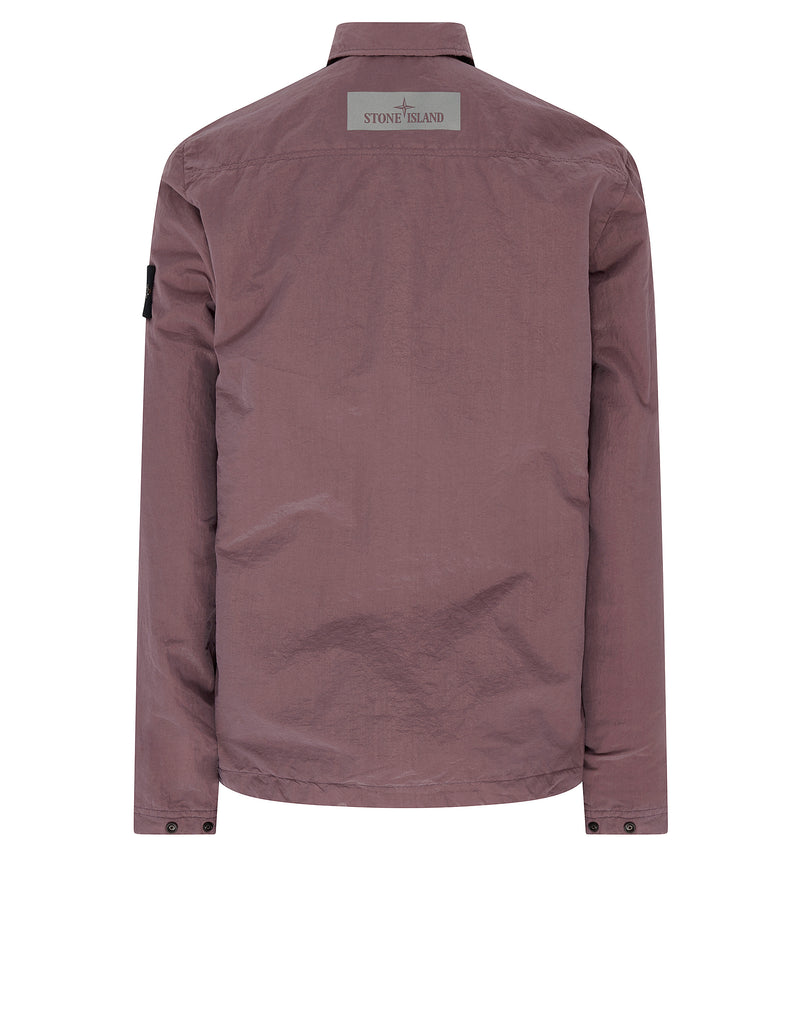 10111 COTTON METAL Overshirt in Rose Quartz