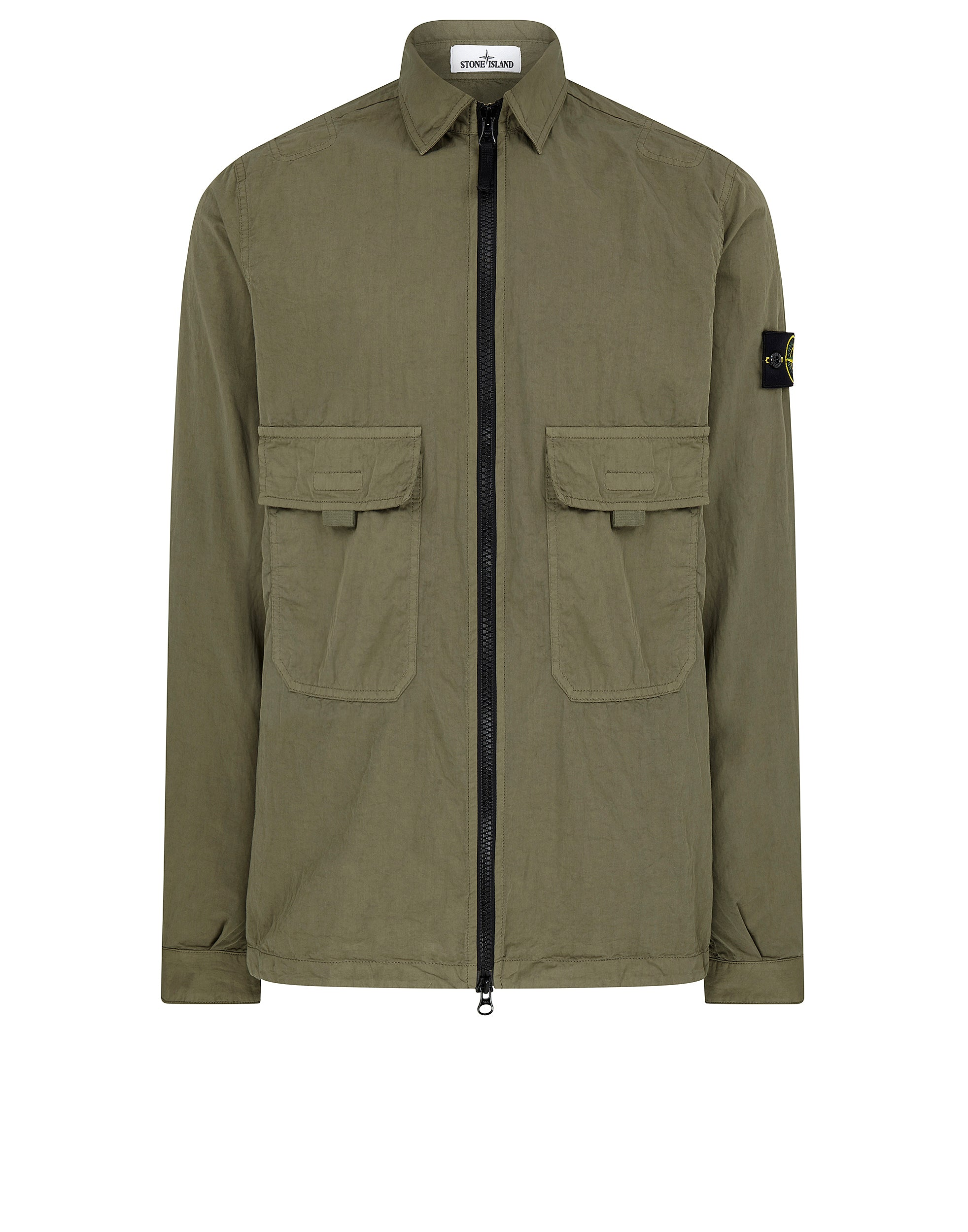 10303 T.CO+OLD Overshirt in Olive