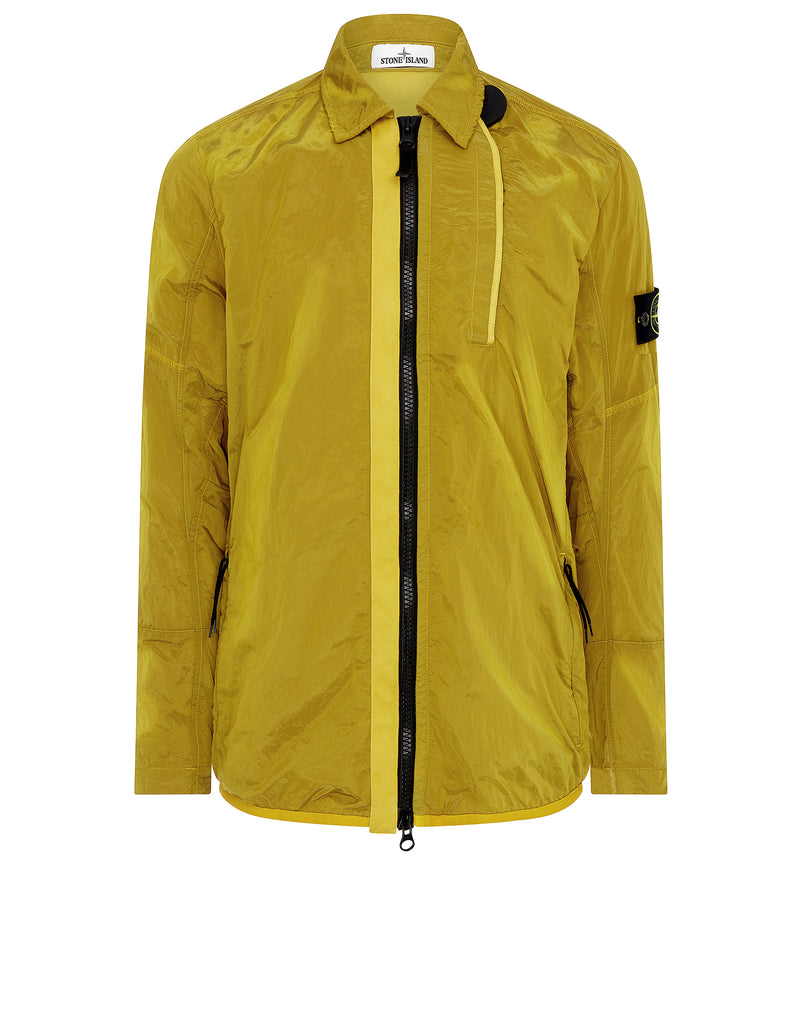10812 NYLON METAL Overshirt in Mustard