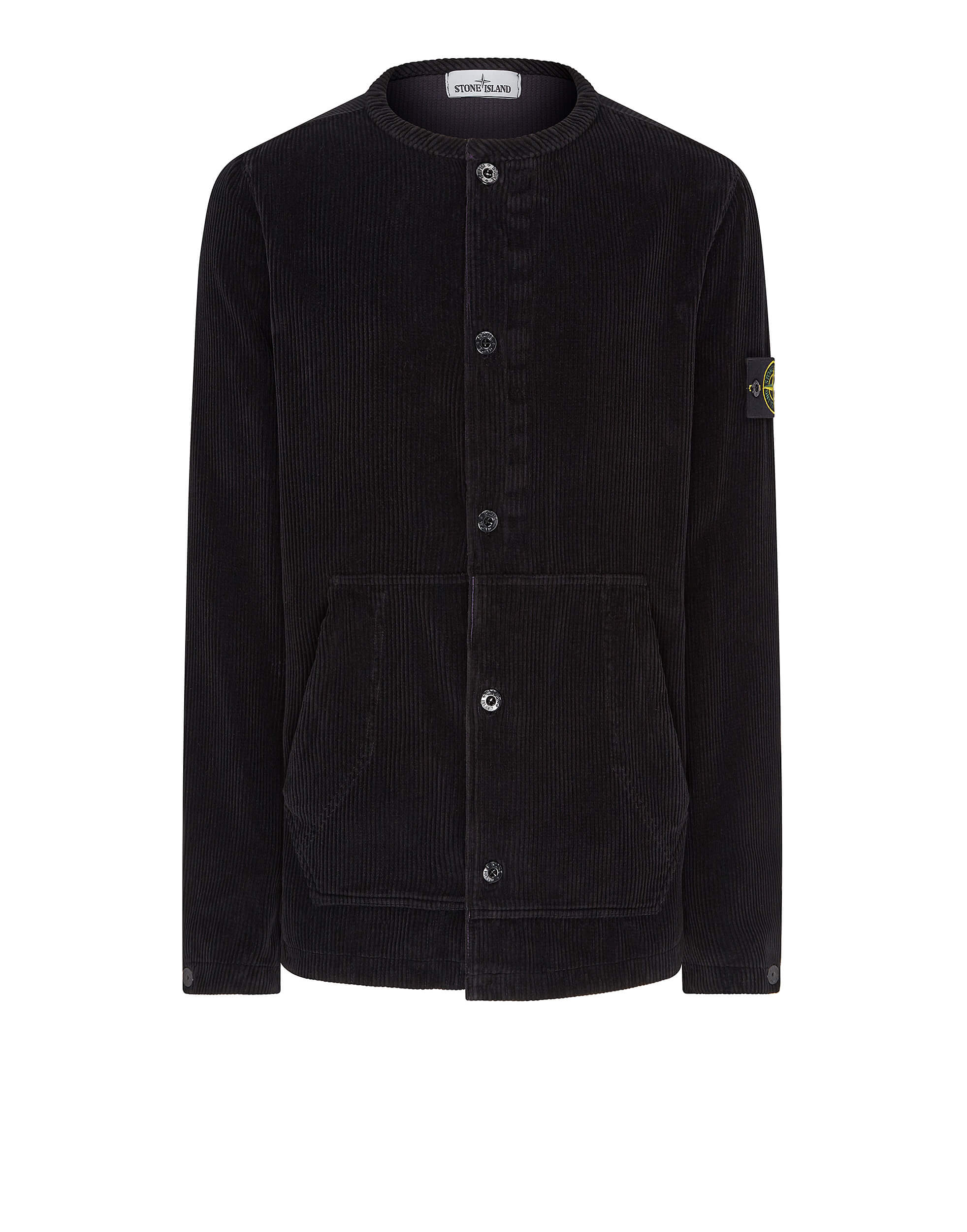 10939 Corduroy Overshirt in Black