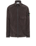 11502 Moleskin Overshirt in Charcoal