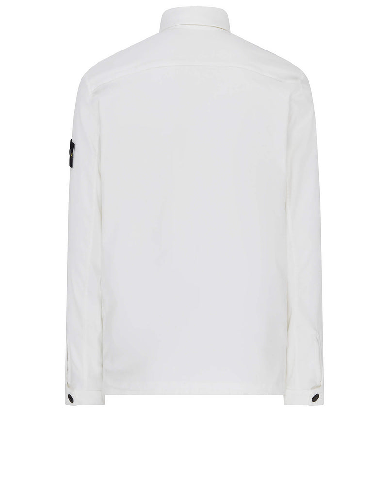 11502 Moleskin Overshirt in White