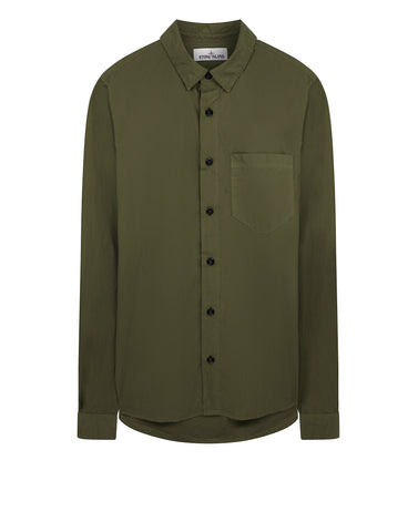 12501 Long Sleeve Shirt in Olive
