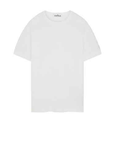 21042 'FISSATO' DYE TREATMENT T-Shirt in White