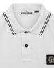 22S18 Slim Fit Polo Shirt in White