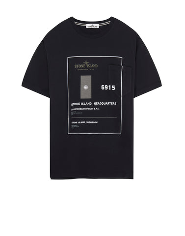 23783 INDUSTRIAL 3 T-Shirt in Black