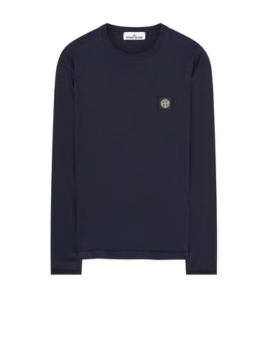 24041 Long Sleeve T-Shirt in Navy Blue