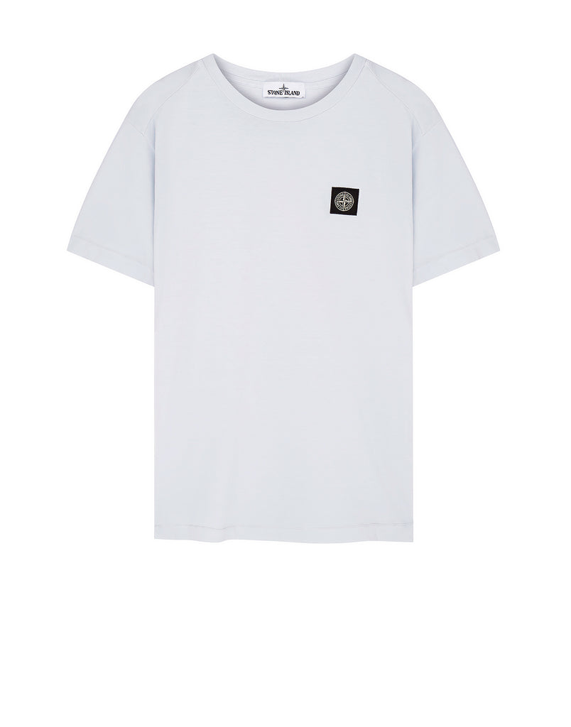 24141 Small Logo Patch T-Shirt in Ice