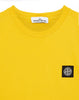 24141 Small Logo Patch T-Shirt in Mustard
