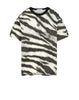 242E2 White Tiger Camo T-Shirt in White