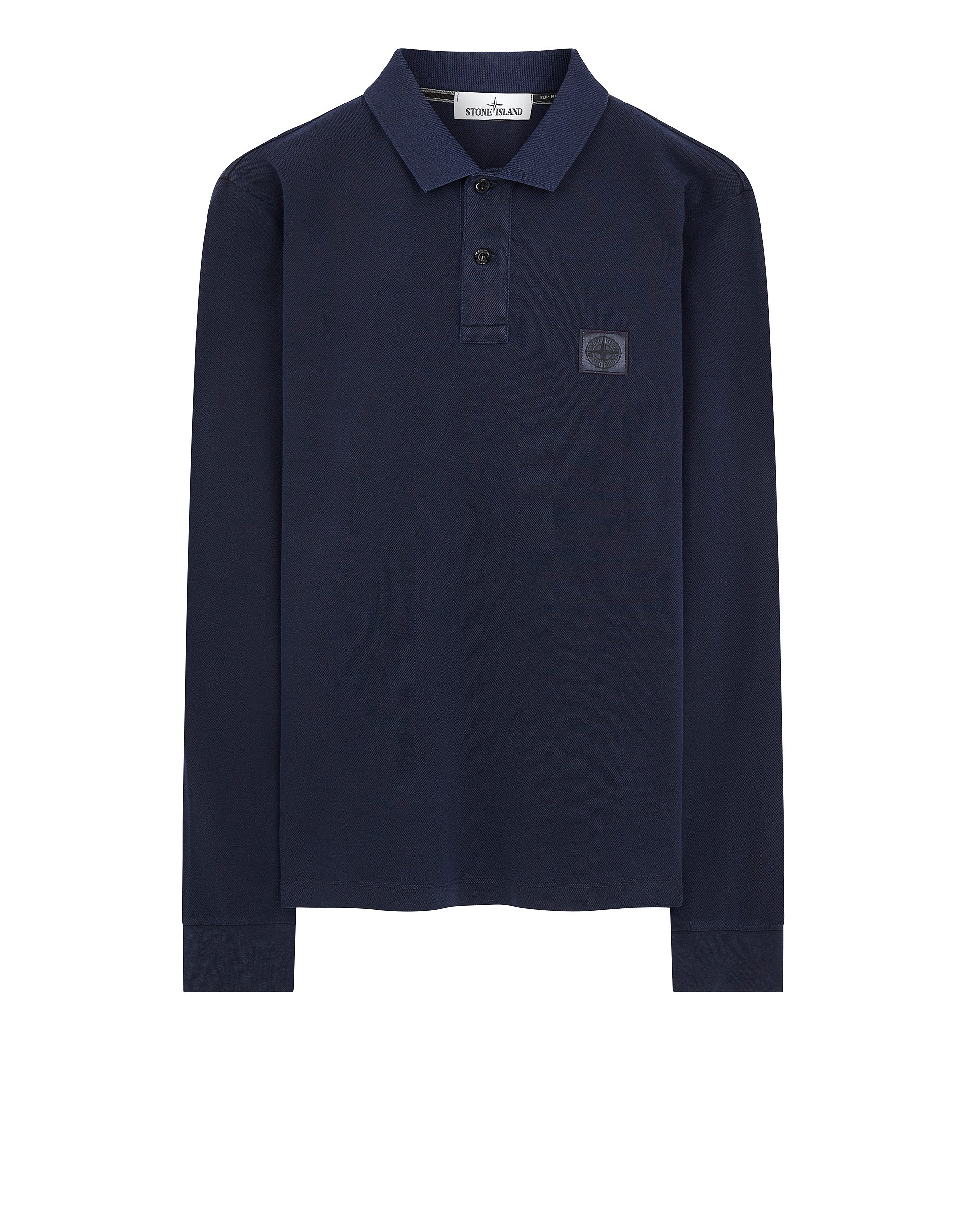 2SS67 PIGMENT DYE Polo Shirt in Ink