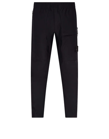 309F2 Ghost Piece_Nylon Cotton 3L Pants in Black