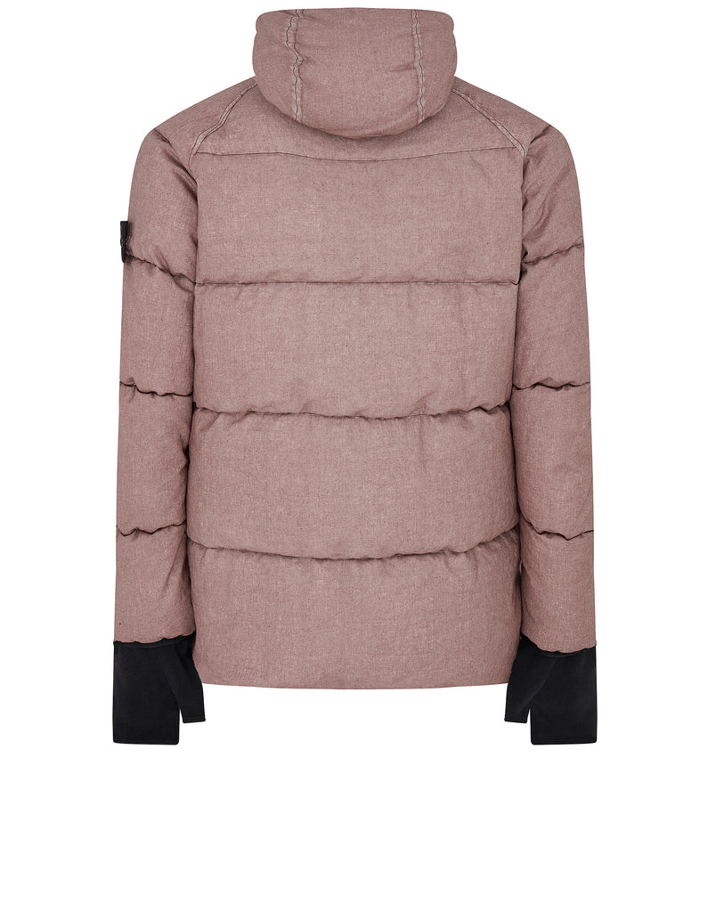 42233 LINO RESINATO DOWN-TC Jacket in Rose Quartz