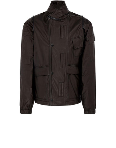 438Y2 GORE-TEX INFINIUM SOFT LINEN SHELL Jacket in Black