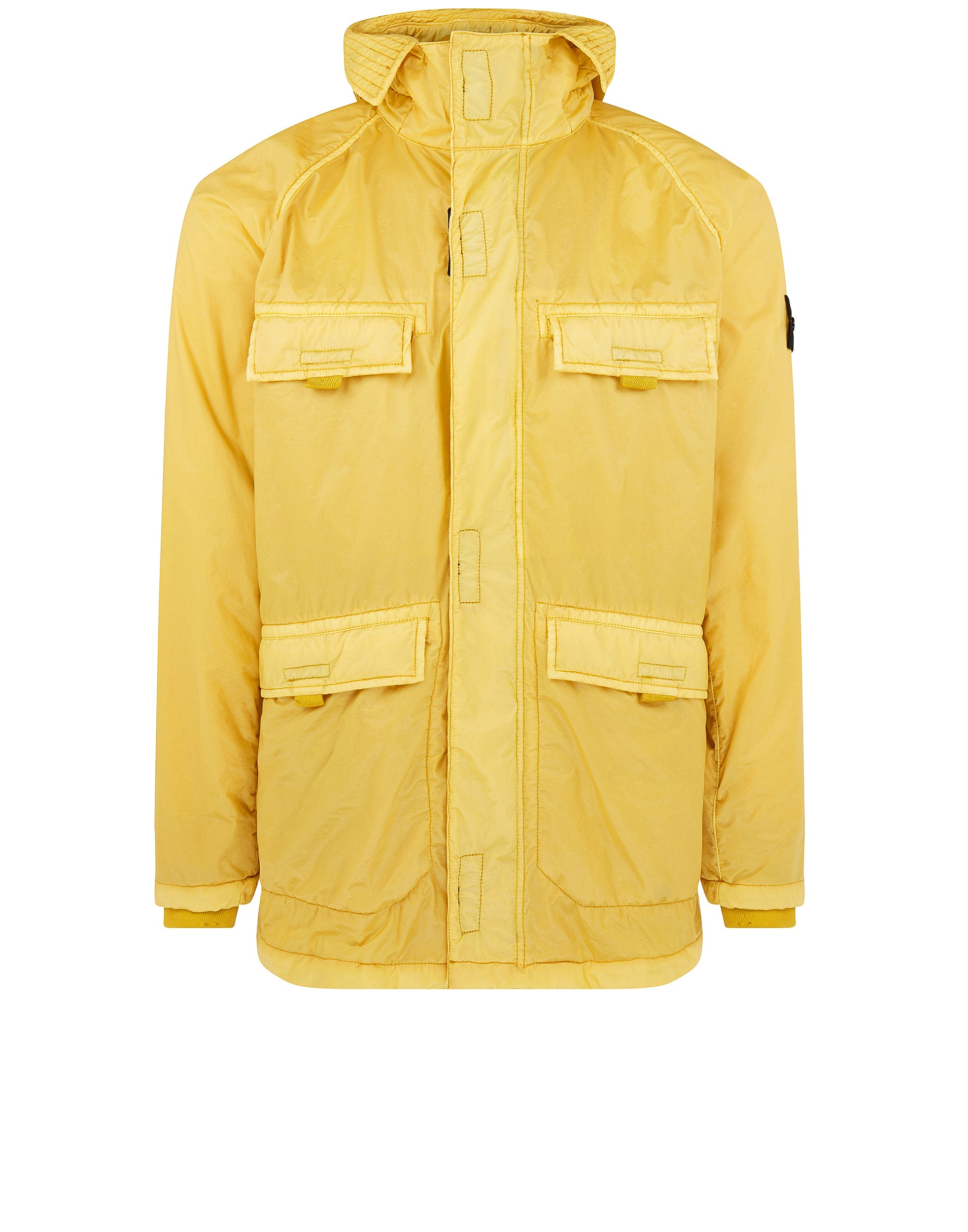 44735 Lamy Flock Jacket in Mustard