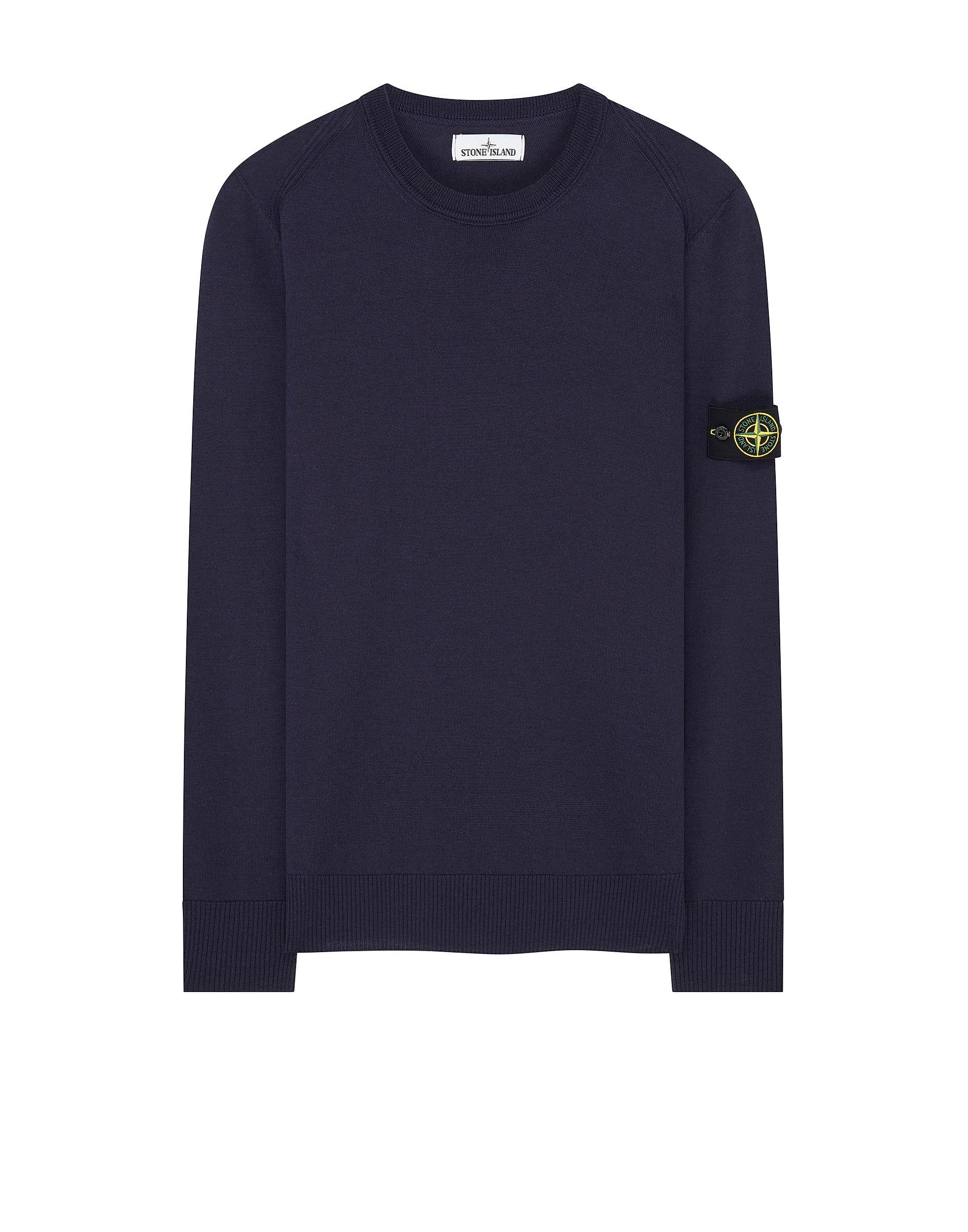 524C4 Crewneck Wool Knit in Ink