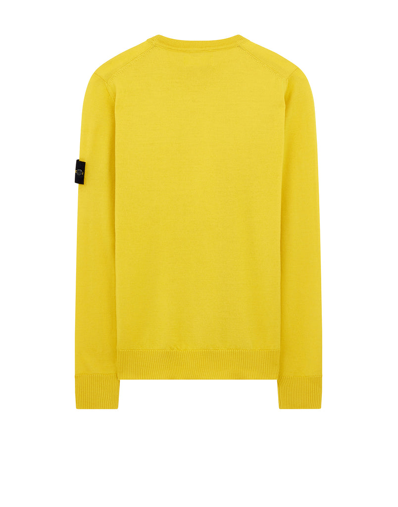524C4 Crewneck Wool Knit in Mustard