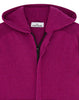 528A3 Hooded Zip Knit in Purple