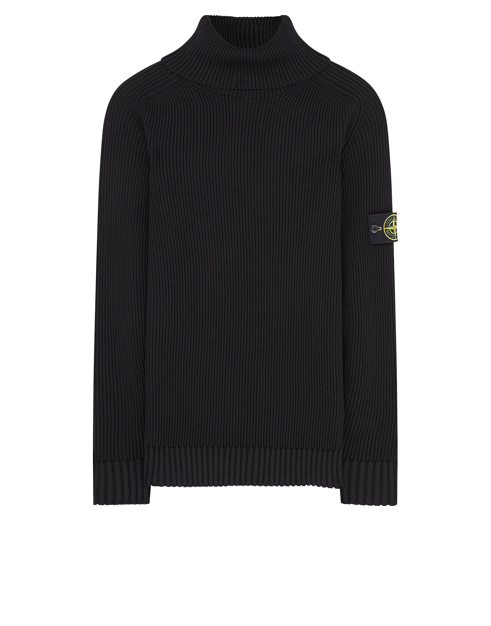 535C2 Turtleneck Knit in Black