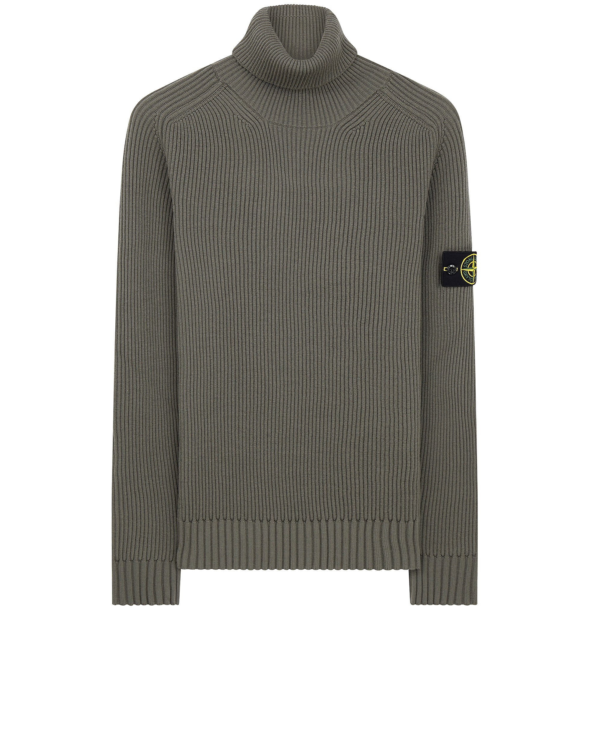535C2 Turtleneck Knit in Olive