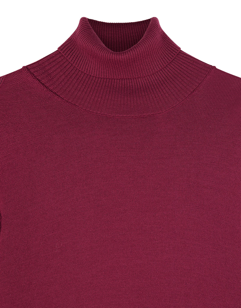 537C4 Wool Knit in Cherry