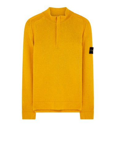 539A3 Crew Neck Knit in Mustard