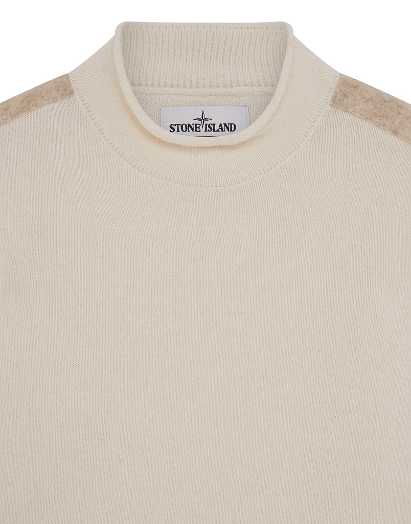 542A3 Lambswool Sweatshirt in Natural