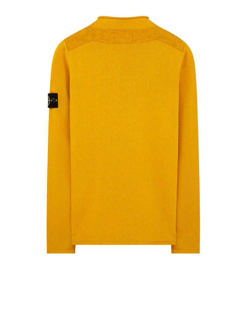 542A3 Lambswool Knit in Mustard