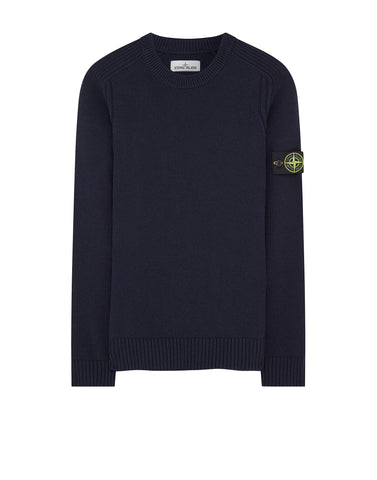 552A3 Crew Neck Knit in Navy Blue
