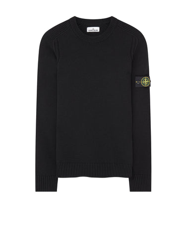 552A3 Crew Neck Knit in Black