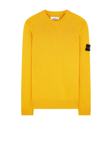 552A3 Crew Neck Knit in Mustard