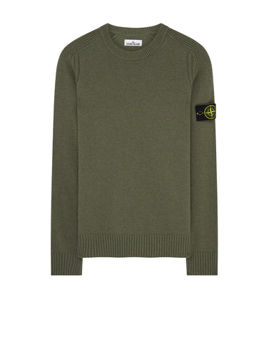 552A3 Crew Neck Knit in Olive