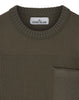 563A2 Wool Pocket Knit in Olive