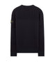 563A2 Wool Pocket Knit in Navy Blue