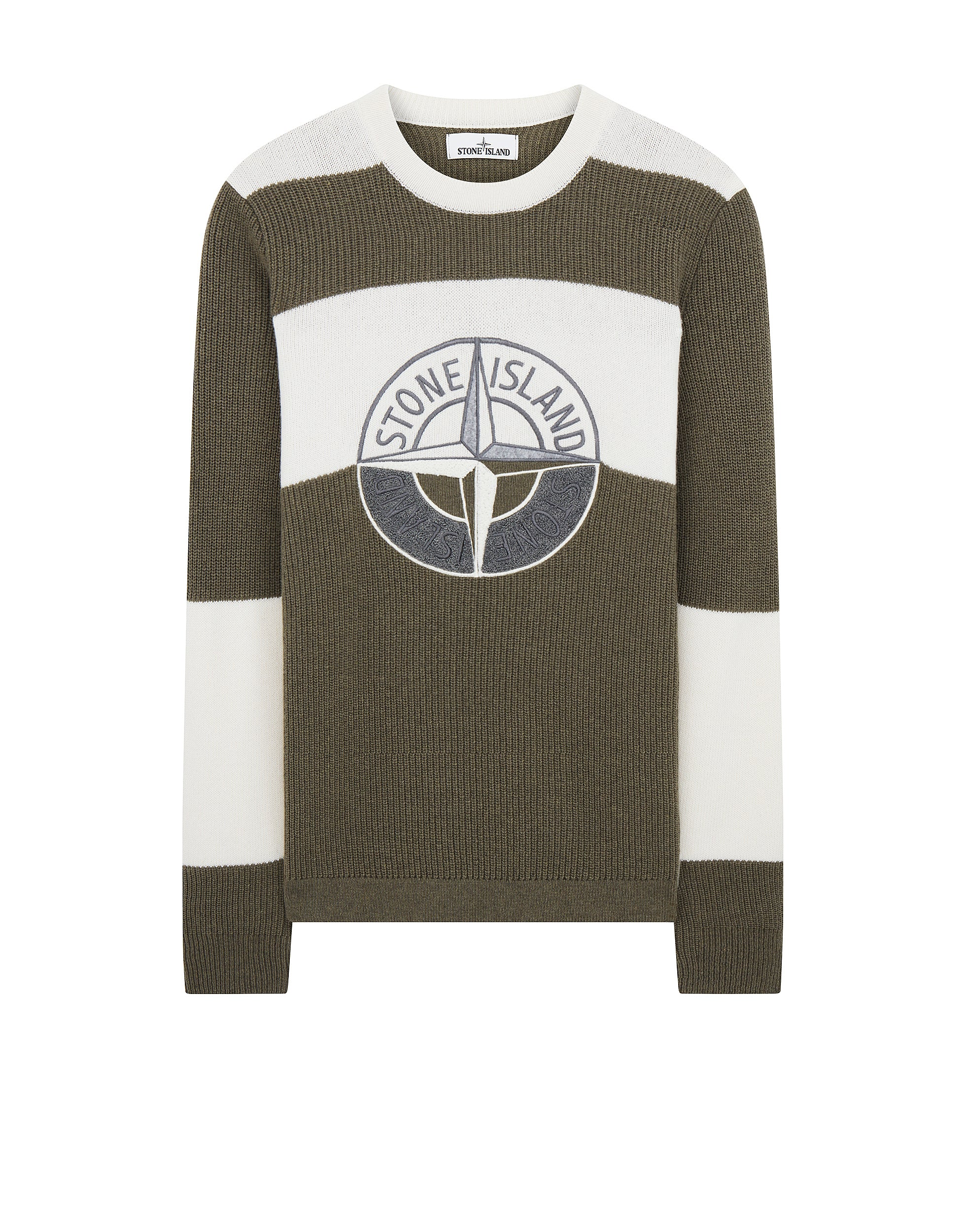 583B7 Crewneck Sweatshirt in Olive